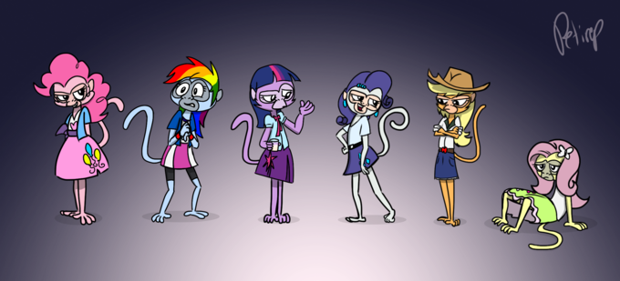 Equestria Monkeys