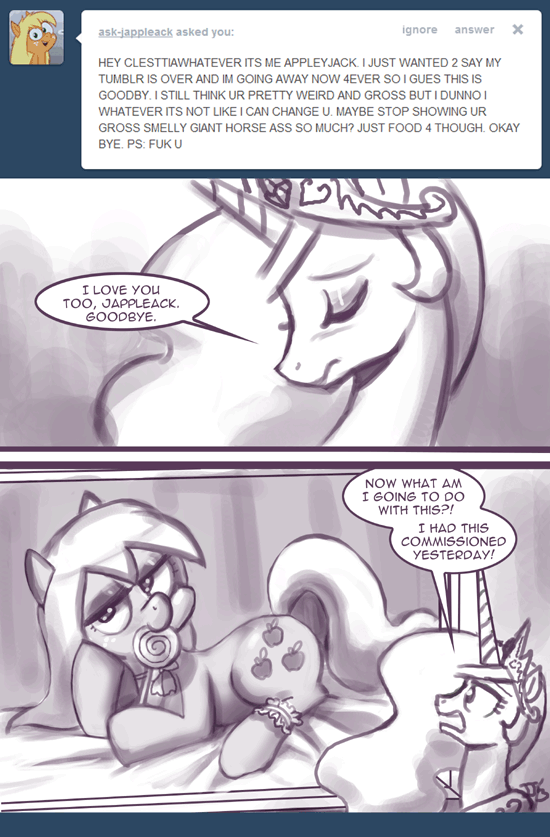 Ask Princess Molestia #286