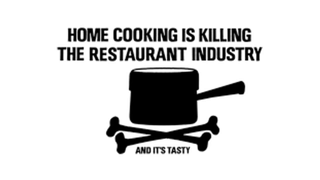 Home Cooking is killing the restaurant industry