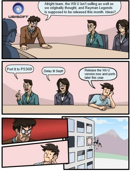 Meanwhile, at Ubisoft...