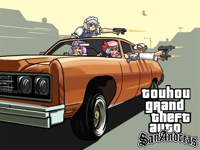 Touhou Grand Theft Auto San Andreas