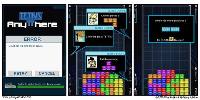 Tetris - If it were like modern day SimCity