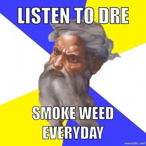 "Dre takes this meme over not snoop ""lion"""