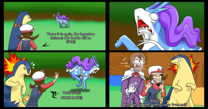 Still Fleeing Suicune