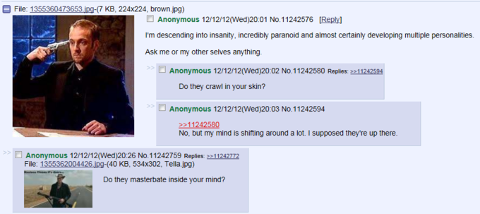 Just another thread on 4chan...