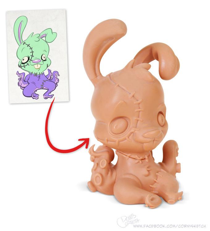 Bunnypuss 3D Print
