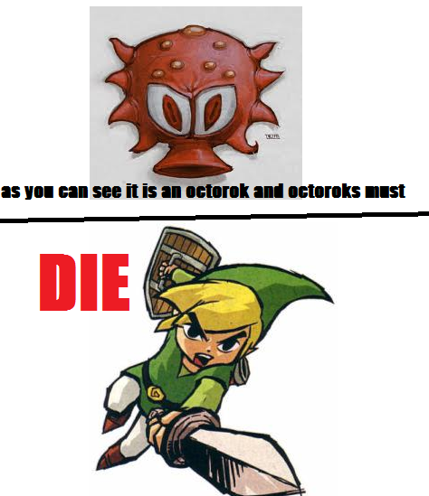 Octoroks must DIE