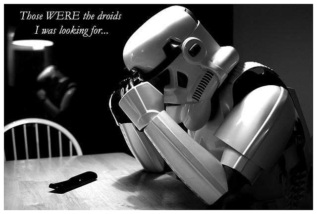First World Stormtrooper Problems