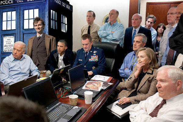 The Doctor, Obama Situation Room (Osama-bin-Laden)