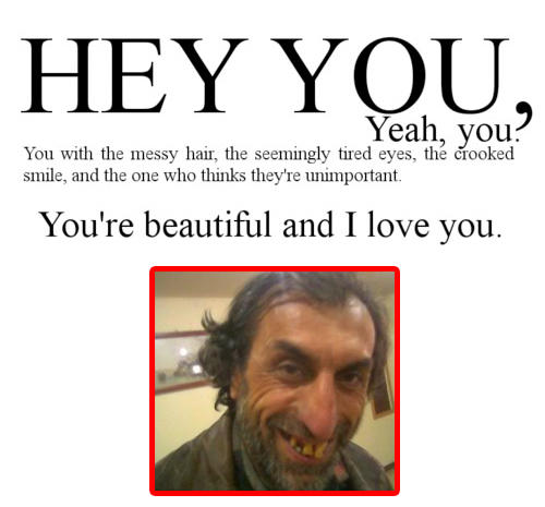 I Love You Quotes Memes : ... Quote Rebuttals / Hipster Edits -Youre Beautiful and I Love You