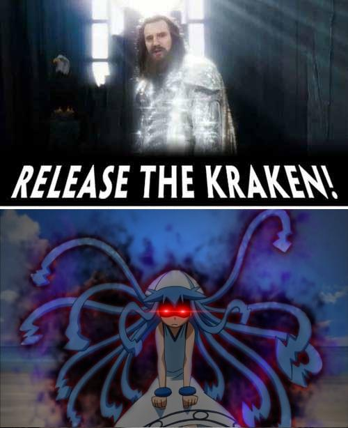 RELEASE THE KRAKEN text phenomenon