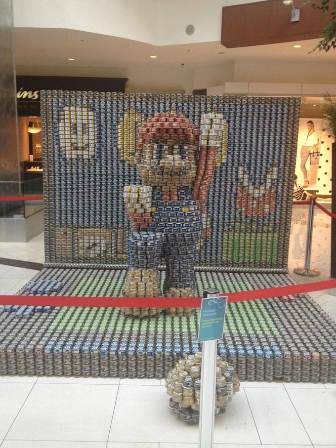 Mario Can Sculpture