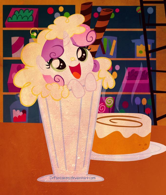 Madame, there's a Sweetie Belle in my milkshake