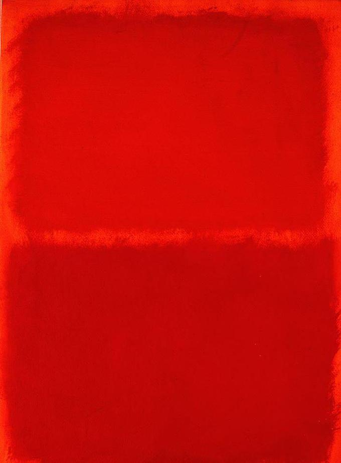 Rothko Red Equal Sign