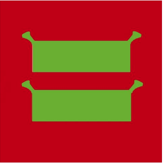 red equal shrek sign