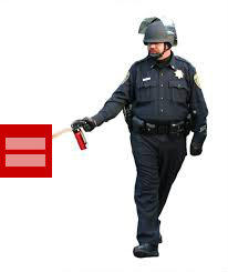 Pepper spray equal rights