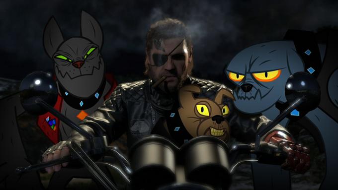 Metal Gear Solid V:  Diamond Dogs