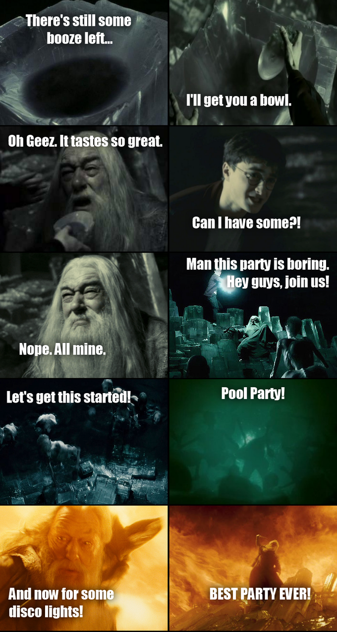 Ain't no party like a Dumbledore party (Part 1)