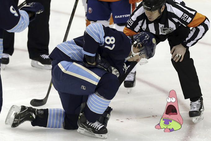 Sidney Crosby & Surprised Patrick
