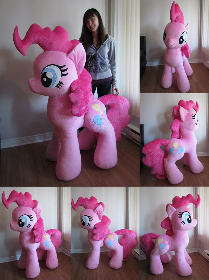 Giant Pinkie Pie Plush