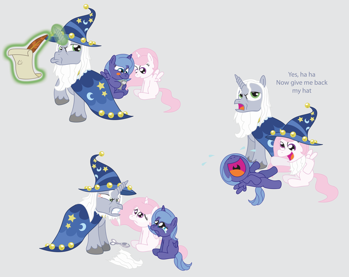 Starswirl and the Misbehaving Princesses