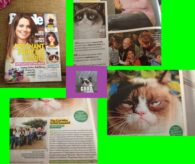 People Magazine: Grumpy Cat.