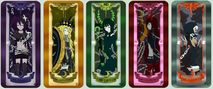 Black★Rock Shooter X Clow Cards
