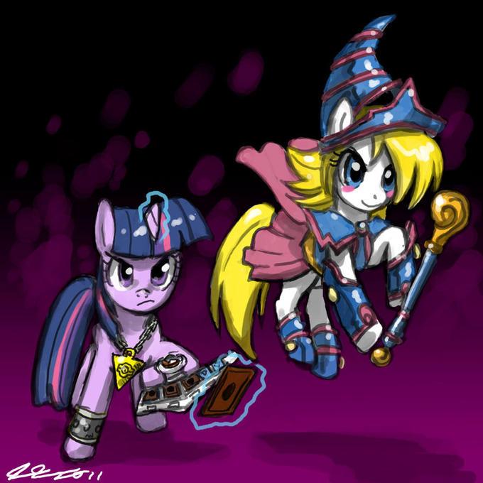 Dark Magician Girl Ponified