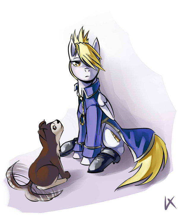 Ponification of Lieutenant Riza Hawkeye from Full Metal Alchemist