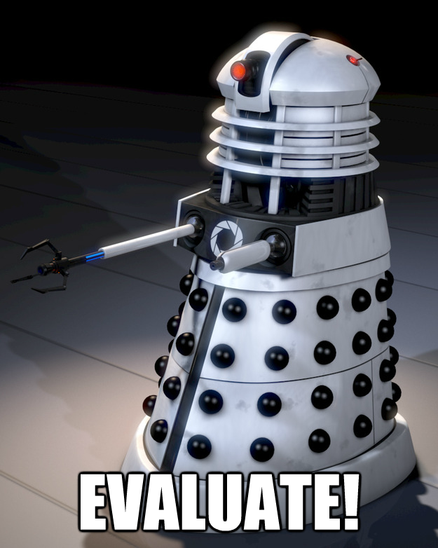 Aperture Science Dalek