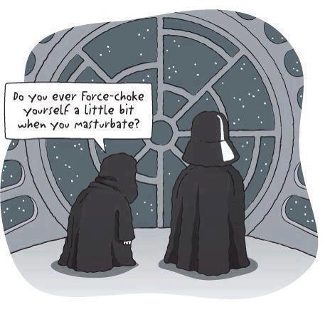 Force Choke Yourself