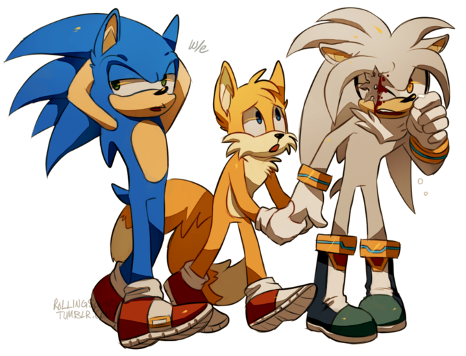 We need to kill Silver and bury him in Tails' backyard.
