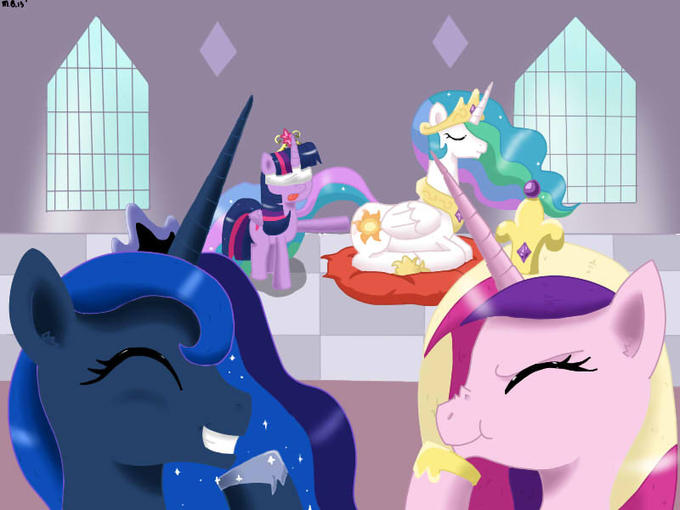 Alicorn Club Initiation Butt Touch My Little Pony