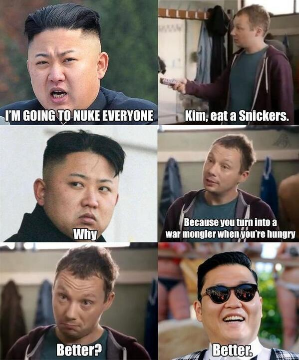 Snickers - Kim Jong-un and PSY