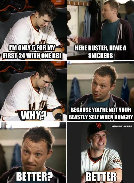 Snickers - Buster Posey