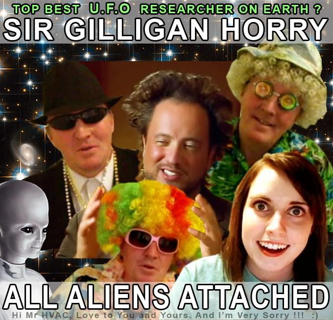 ALIENS ATTACHED !!!