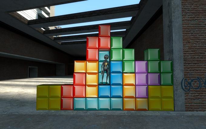 XCOM: Tetris