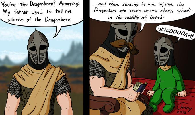 Dragonborn tales