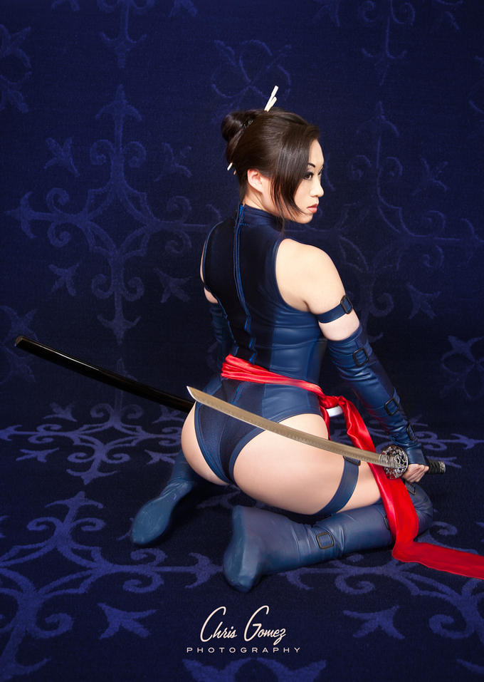 Psylocke Cosplay by Yaya Han