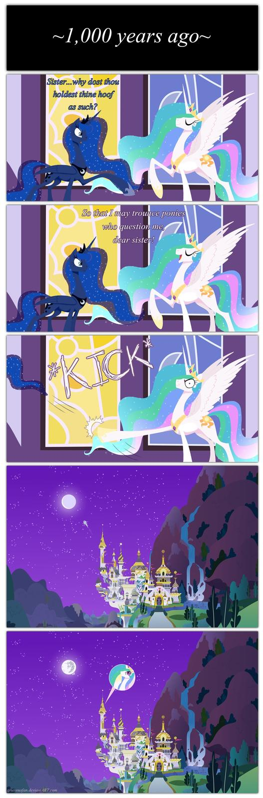 Luna's Banishment: How It Really Happened