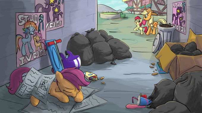 Dreams of a foal