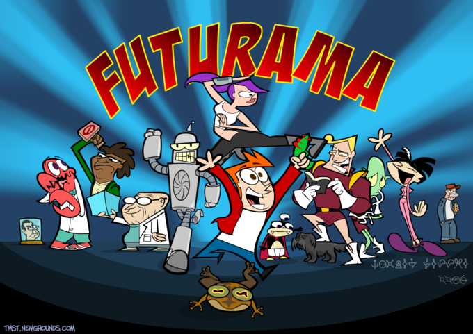 If Futurama was made by Cartoon Network.