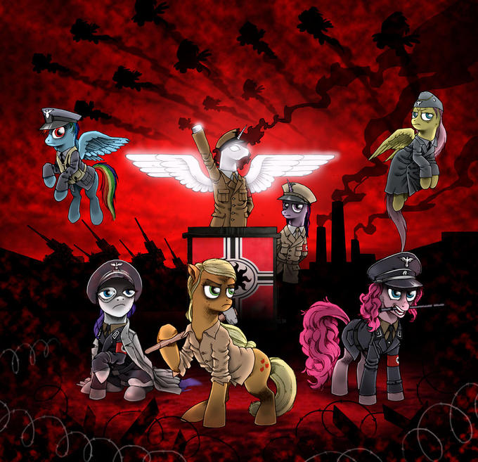 MLP Ponies as Nationalist Socialists.