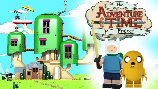 LEGO Adventure Time project on Cuusoo