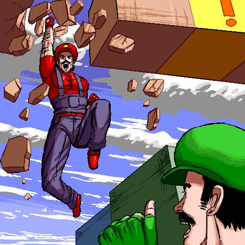 Mario and Luigi get shit done