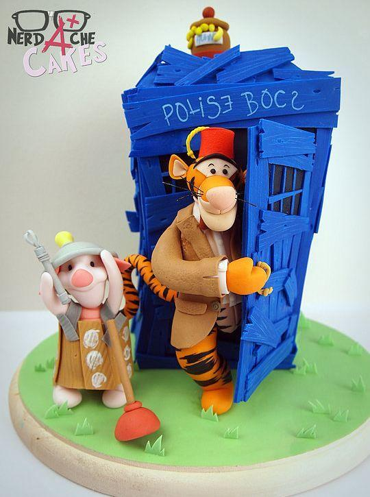 Doctor Tigger: 'Cause The Wonderful Thing About Time Lords Is I'mmm... THE ONLY ONE!