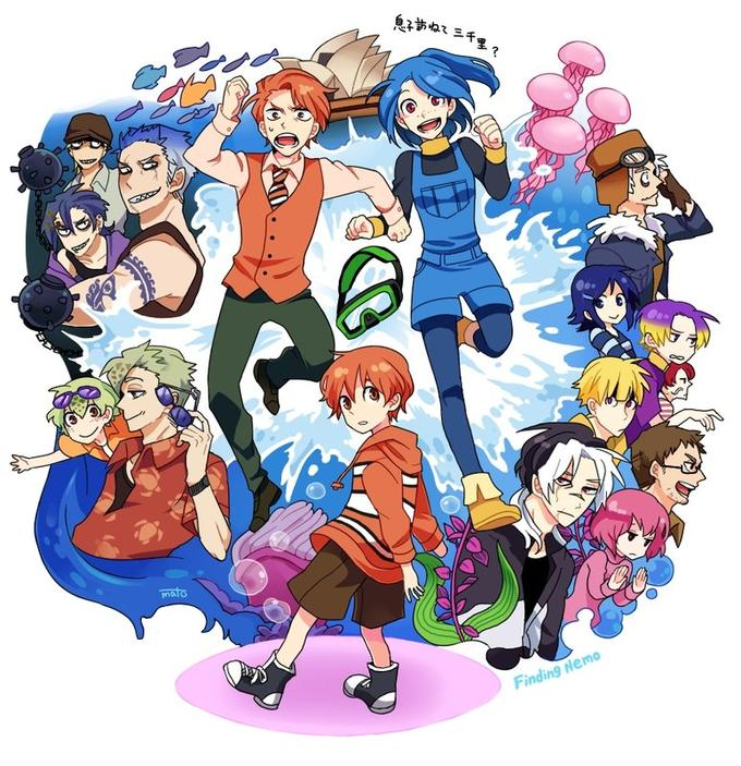 Finding Nemo Anime