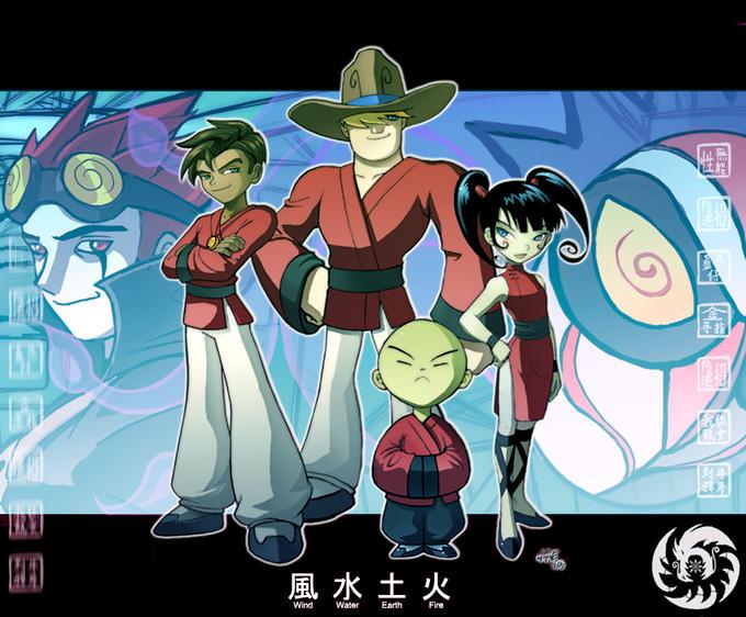 Xiaolin Showdown- Four Dragons