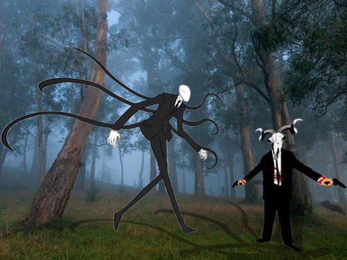 Sentencer of Crime vs Slenderman