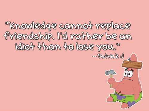 Patrick's Wise Words